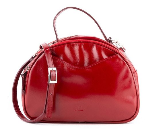 Bandolera Doble Mujer Xl Extra Large Carol Rojo