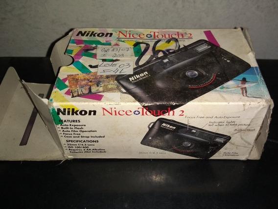 Câmera Nikon Nice Touch 2