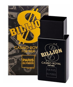 Perfume Paris Elysees Billion Casino Royal 100m