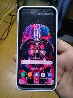 Samsung S8 Con Pantalla Fantasma Leve