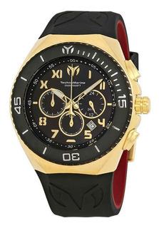 Reloj Hombre Technomarine Ocean Manta Crono Dorado 215066