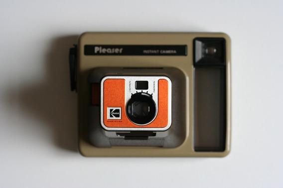 Câmera Kodak Pleaser Instantânea Tipo Polaroid. Ótimo Estado