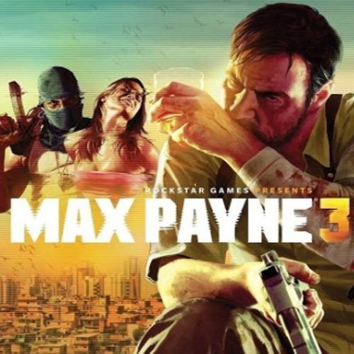 Max Payne 3 Pc-dvd- (midia Fisica)