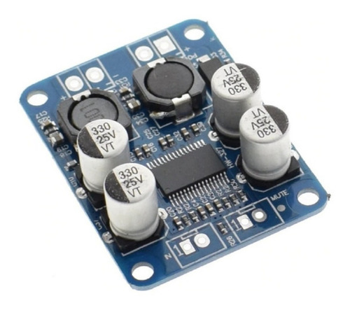Modulo Amplificador De Audio Mono 60w Clase D Tpa3118