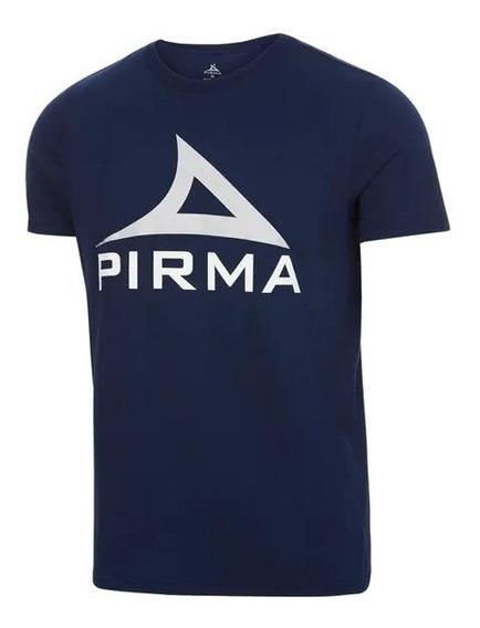 Playera Básica Con Logotipo Hombre Pirma Original
