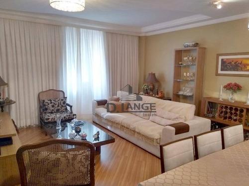 Imagem 1 de 24 de Apartamento Com 3 Dormitórios À Venda, 162 M² Por R$ 646.000,00 - Centro - Campinas/sp - Ap16650