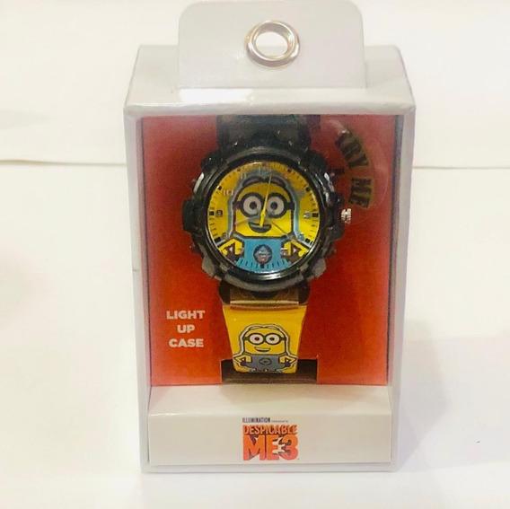 Reloj Minions Nuevo Orginal