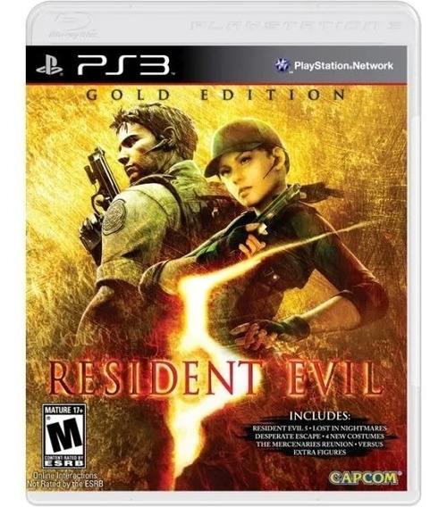 Resident Evil Gold Edition Ps3 Mídia Física Usado