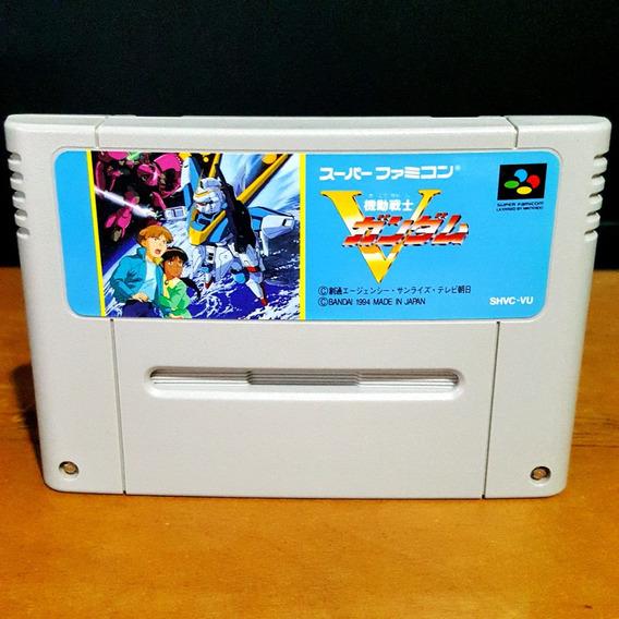 Kidou Senshi V Gundam - Super Nintendo / Famicom S/ Juros