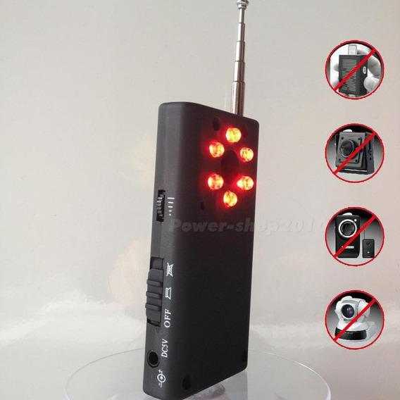 Detector R F De Cámaras Y Micrófonos Espías Profesional 2020
