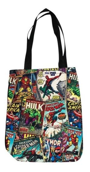 Bolsa Marvel 100% Original E Importada