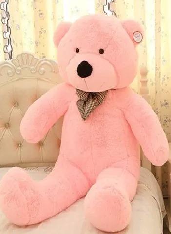 Urso Gigante Grande Pelúcia Teddy Bear 1 Metro