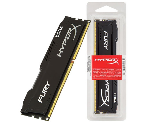 Memória Ram 16gb Ddr4 Cl16 2666 Mhz Kingston Hyperx Fury