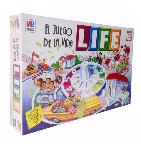 Juego De La Vida Life De Mesa Hasbro Tv Niño Adulto Original