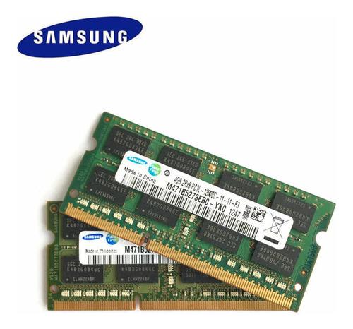 Imagen 1 de 2 de Ram Sodimm Samsung Ddr3 4gb Pc3l 1600mhz
