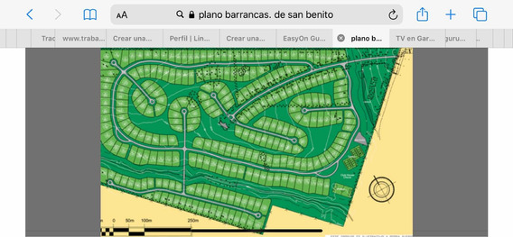 2 Lotes En Barrio Cerr Barrancas De San Benito Total 2400 Mt