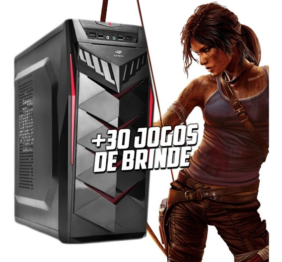 Pc Gamer Completo Amd A4 6300 8gb 500gb Vga 2gb