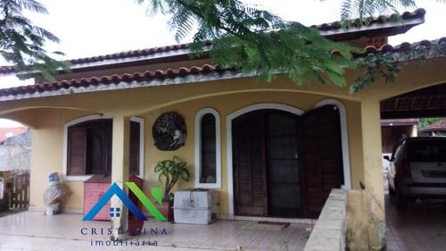Imagem 1 de 11 de Vendo Chácara Casa 2 Dormitórios Terreno 1.000 M² Vila Indaiá, Itanhaém/sp Ao Lado Da Rodovia. - Ch00074 - 34825142