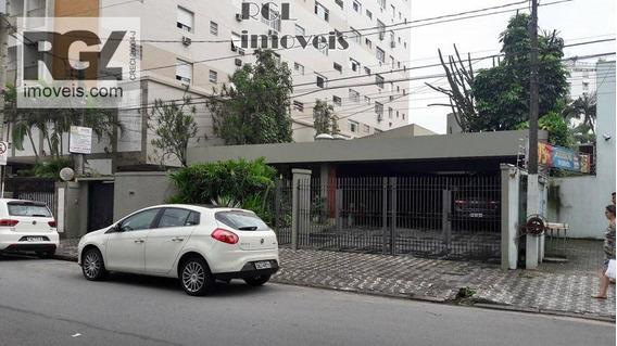 Casa Comercial Para Locação, Ponta Da Praia, Santos. - Ca0408