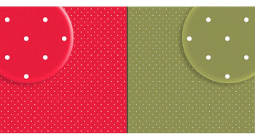 Repeteco - Duo Básico Bolas Vermelho/verde - Tulipa