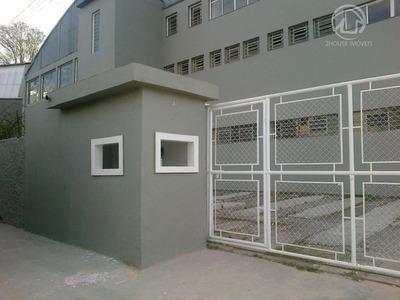 Galpão Industrial Para Locação, Vila Engenho Novo, Barueri. - Ga0075