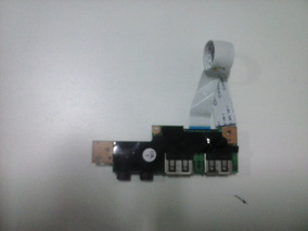 Conector Usb + Audio Do Netbook Philco 10d
