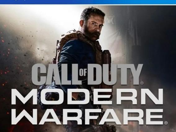 Call Of Duty: Modern Warfare Ps4 Digital 1 + Mk11 + God Of W