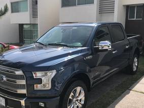 Ford Lobo 3.5 Platinum Cabina Doble 4x4 Mt 2015, Solo Venta