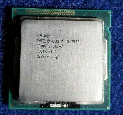 Processador Intel Core I5 2500 3.3 Ghz Scket 1155 2º Geração