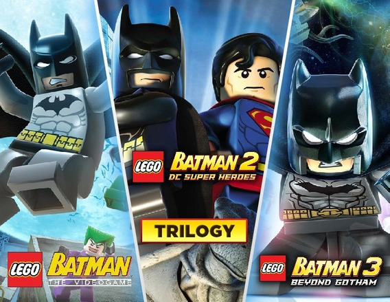 Lego Batman Trilogy Steam Cd Key Código 15 Dígitos