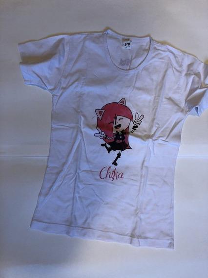 Camiseta Branca Kidzania