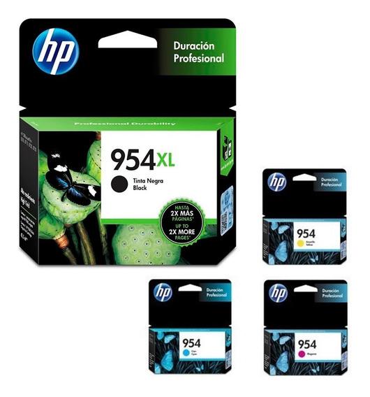 Kit Tinta Para Multifuncional Hp 7740 Hp954 Hp 954