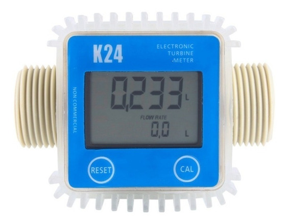 Medidor Fluxo Digital K24 Para Arla 32 Óleo Diesel Gasolina