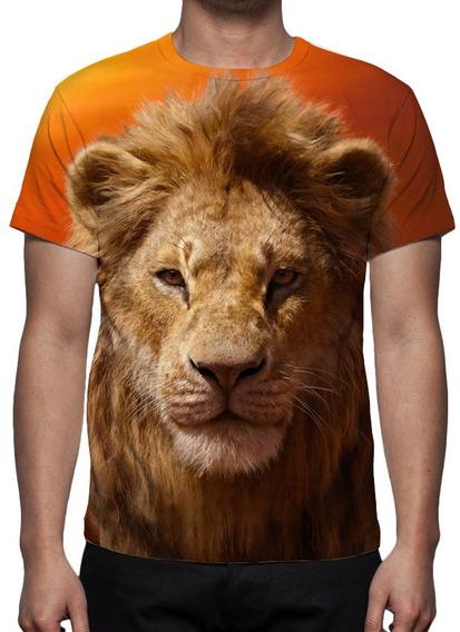 Camiseta Filme Rei Leão - Simba - Mod 01