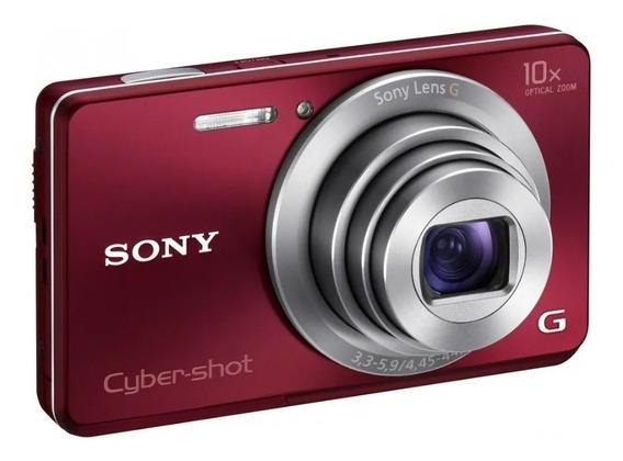 Câmera Digital Sony Cyber-shot 10x Dsc-w690