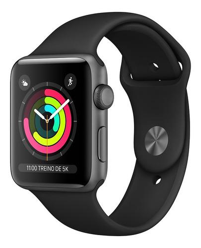 Relógio Smartwatch Apple Watch Series 3 38mm Gps Wifi 8gb