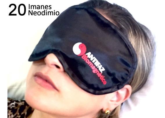 Antifaz Súper Eficaz Anti Migraña, Estrés Insomnio 20 Imanes
