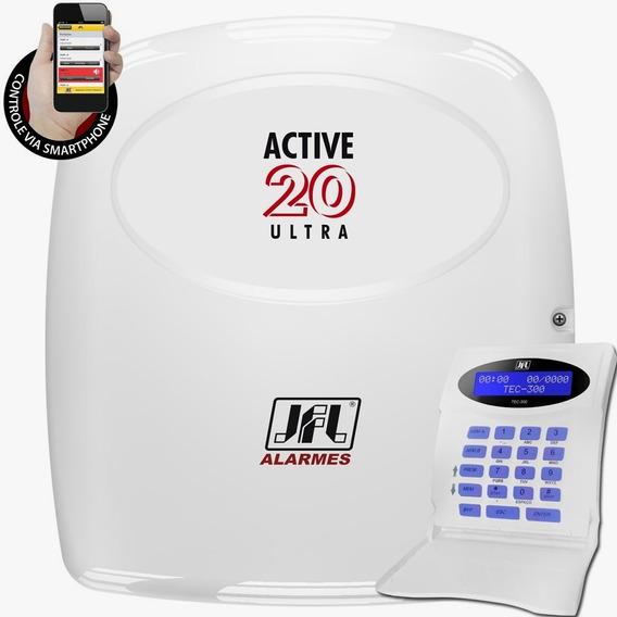 Central Alarme Active 20 Ultra Jfl Com Tec-300