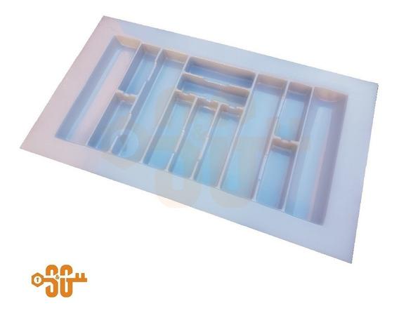 Cubiertero Organizador Plastico Para Cajón 93 Cm X 54 Cm