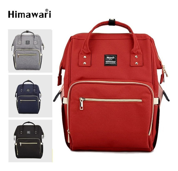Mochila Bolso Himawari Con Usb Ideal Notebook