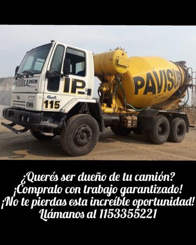 Motohormigonero/ Pagalo Con Trabajo Asegurado Oportunidad !!