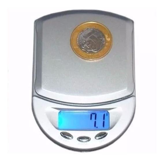 Mini Balança A4 Digital Diamond Alta Precisão 0,1 Gr - 500