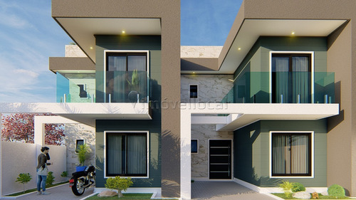 Sobrado Em Condomínio Com 3 Dormitórios À Venda Com 120m² Por R$ 399.000,00 No Bairro Pinheirinho - Curitiba / Pr - So00236