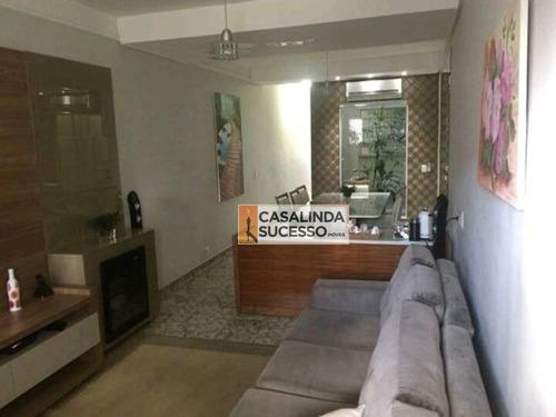 Sobrado 210m² 3 Suítes Próx. À Rua Alto Garças - So0596 - So0596