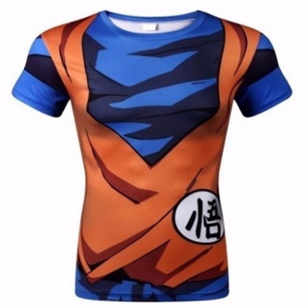 Remera Dragon Ball Z Goku Compresion