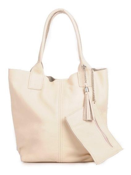 Cartera Cuero Shopping Bag Tote