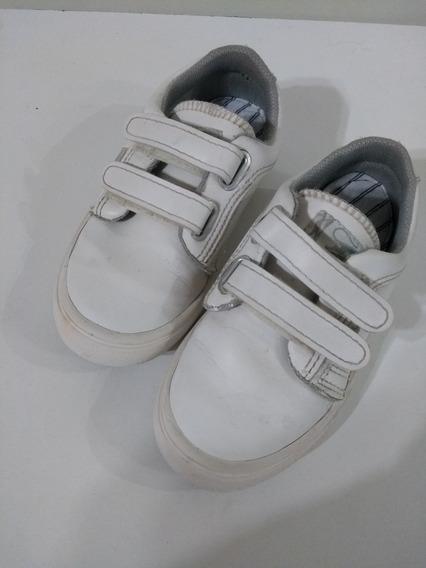 Zapatillas Escolares Jaguar Blancas N°31