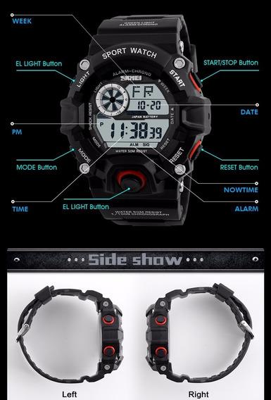 Relógio Masculino Militar Skmei 100% Original