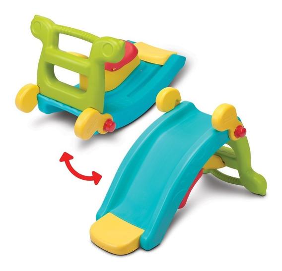 Kit 2 En 1 Resbalín Y Balancín Fisher-price Fun Slide Rocker