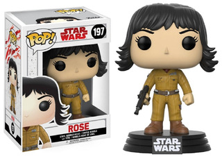 Funko Pop Rose 197 Star Wars Muñeco Original
